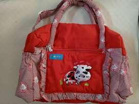 Tas perlengkapan bayi ukuran besar bekas mulus