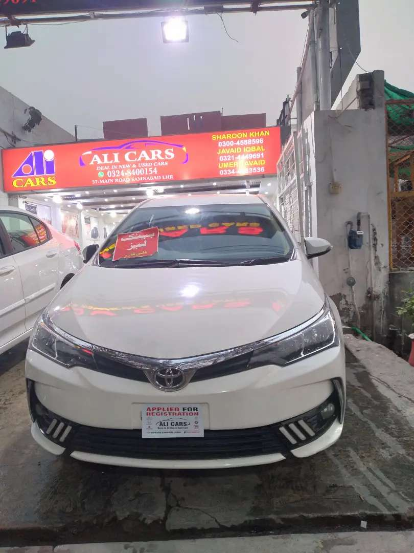 ALTIS 10 INSTALLMENTS PAID 38 REMAINING 0