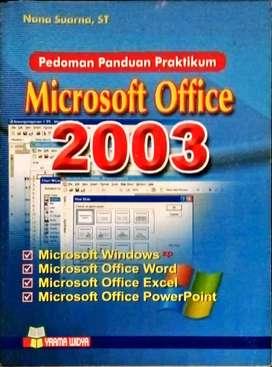 Buku microsoft office 2003