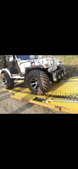 Open modified jeep willys turbo