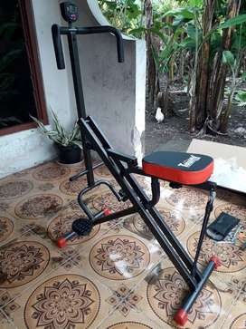 Alat Olah Raga POWER RIDER SQUAT Total Fitnes