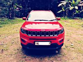 Jeep Compass Sports Plus 1.4 Exotic Red, Only Driven 4000km.