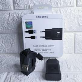 Charger Samsung 15W Original Type-C Fast Charging S10 S9 S8 A51 A31M30