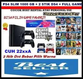 GaK BuAt KanToNg TiPiS    New Ps4 Slim 1000 GB Full Game Segel Void