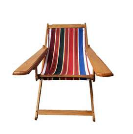 American RED OAK Easy Chairs
