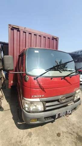 Toyota DYNA 130 XT th 2010 box jumbo kond full ors cat Istw siap pakai