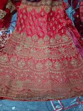 Latest bridal lehenga choli for bride.