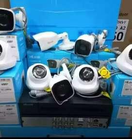 Sukabumi ) CCTV 2 Mp 4 Ch Berikut pasang