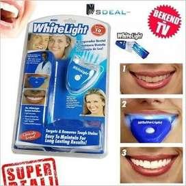 white light pemutih gigi