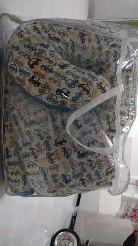box bayi babydoes + bedcober set lengkap
