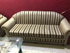 Striped sofa set 11 seater