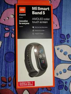 Mi Smart Band 5 New Sealed Pack with Bill Box