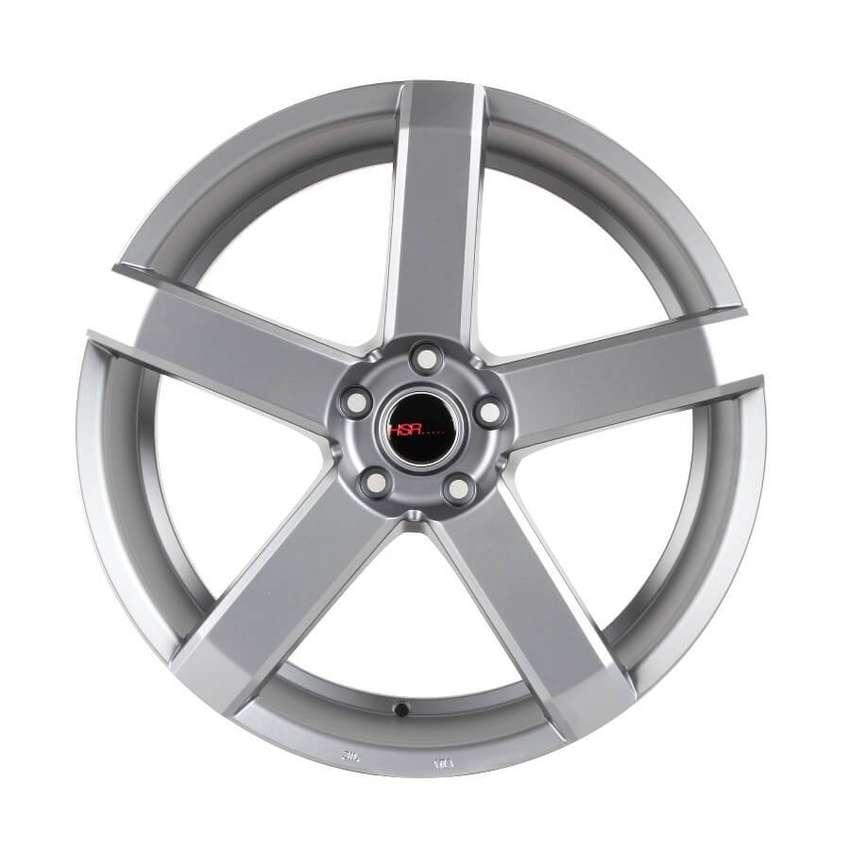 Ready velg murah HSR-Steve-JZ5160-Ring-20X85-Hole-5X1143-ET42-Semi-Mat 0