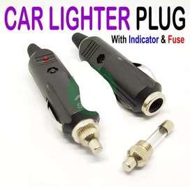 Lighter plug socket.