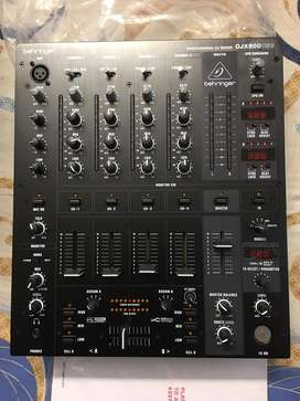 Behringer DJX 900 - 4 Channel PRO DJ mixer with USB