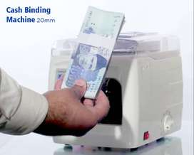 cash binding roll I cash counting machine I cash binding machine