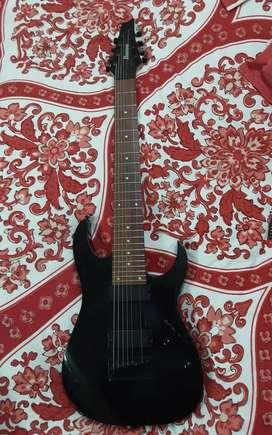 Ibenez RG8-BK 8 string electric guitar
