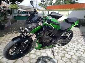 Kawasaki z250 build up thailand, pemakaian tahun 2016 akhir
