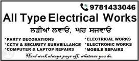 All Types Electrical Work