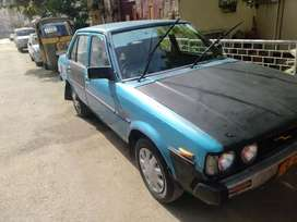 First owner 1980 corolla imported from japan