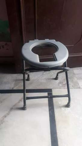 Surgical commode chair