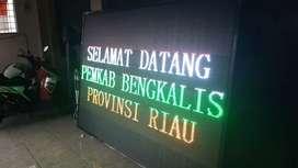 Running teks Indonesia murah garust