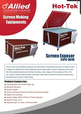 Hot-Tek - Screen Printing Machines