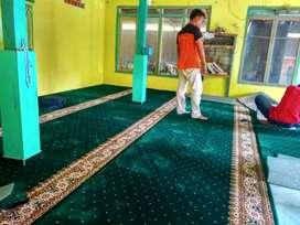 Karpet masjid free kirim sampel