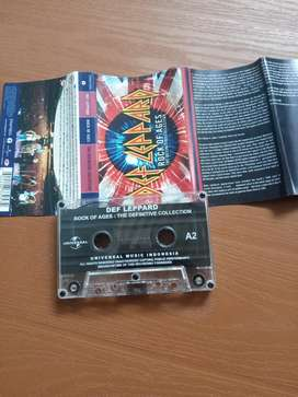 Kaset Tape Def Leppard - Rock of Ages II