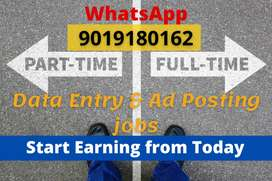 Simple home based part time jobs with genuine payments.