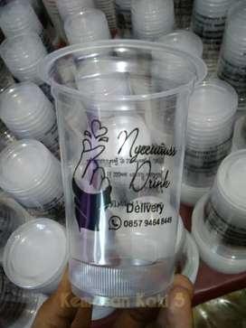 Anda Butuh Jasa Cetak Logo Usaha di Cup Plastik?