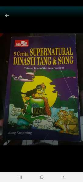 Buku cerita supranatural hantu mitos cerita cina tionghoa
