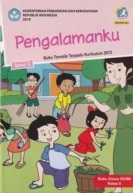 Buku Tematik SD Paket Kelas 2 Tema 5-6-7-8