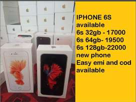 iphone 6s 32gb / sealed packed / warranty and easy emi
