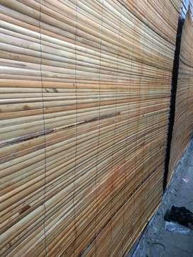 Izin , jual tirai rotan dan tirai kayu miranti dan tirai isi bambu