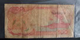 Uang kertas 100 rupiah tahun 1992 kapal Pinisi - 1 lembar