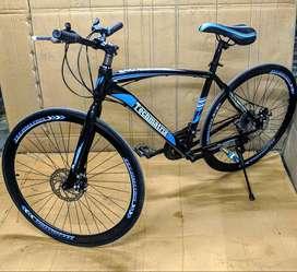 TMatrix Bike X with Dual Handle types, 21 Shimano Gears & Dual Disc Br