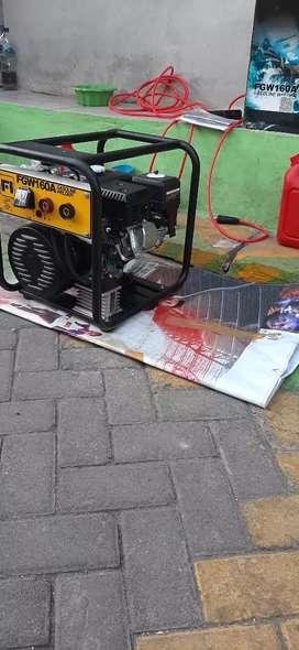 Genset Welding gasoline welding Firman 160 amper set