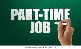 Part time job for 8th pass and with internet knowledge required.