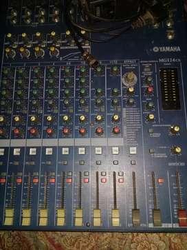 Jual mixer 8ch yamaha mg 124cx murah