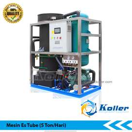Mesin Es Tube Kapasitas 5 Ton Per Hari