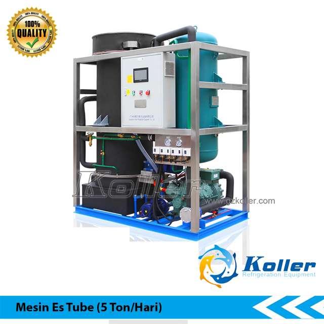 Mesin Es Tube Kapasitas 5 Ton Per Hari 0