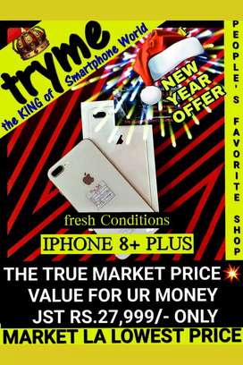 TRYME IPHONE 8 Plus fResh Conditions
