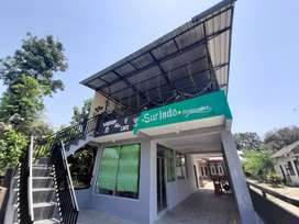 Dijual Rumah+Bangunan Usaha(Minimarket L.1 Cafe L.2)