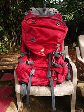Deuter Air Contact 45+10 Red