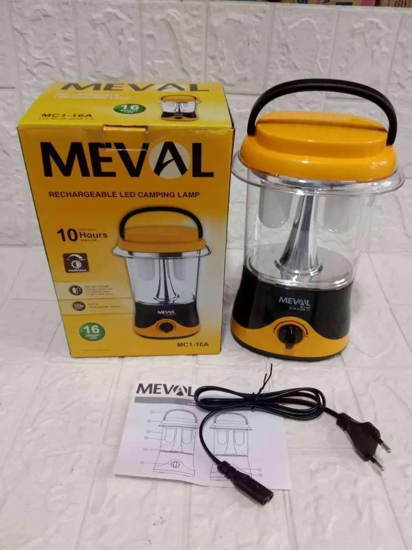 PROMO KAKA-LAMPU CAMPING MEVAL MC1 16A CAHAYA PUTIH TERANG DICAS ULANG