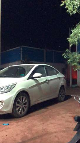 Hyundai Fluidic Verna 2014 Diesel Good Condition Keyless