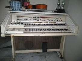 Organ jadul jvc victron putih,, clasic n antik..