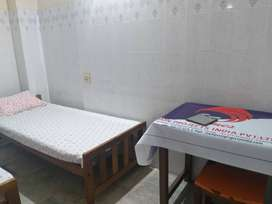 Bath attached double room and single room available at medical college