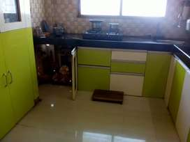 1BHK furnised with grill security flat for sell